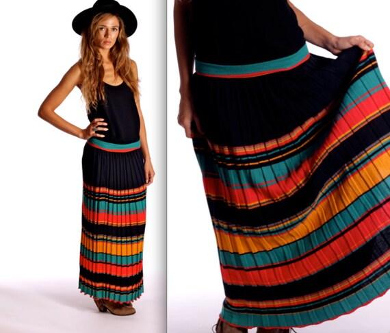 Vintage 1990s Knit Maxi Skirt