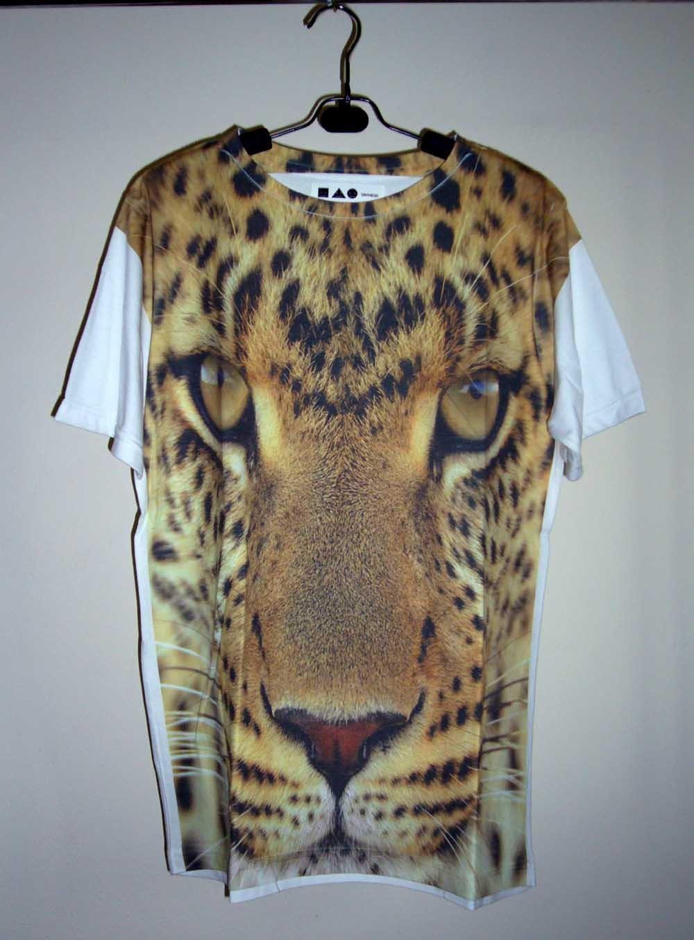 leopard shirt animal shirt tiger t shirt cheetah shirt. Black Bedroom Furniture Sets. Home Design Ideas