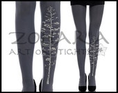 Blooming Tree design Tights (F47-GG) Free Shipping!