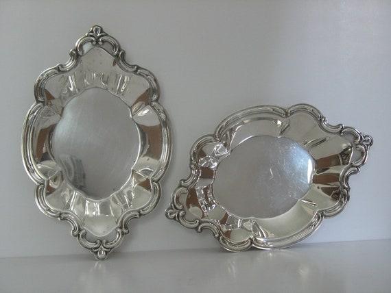 Vintage Silver Bon Bon Trays