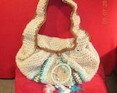 Crocheted Boho Bag  - Ready To Ship
