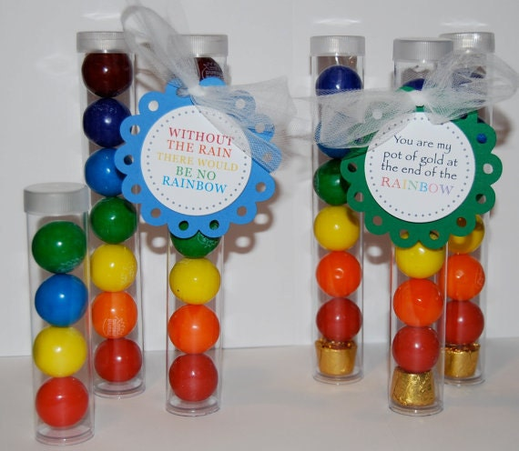 "Clear plastic tubes with caps 7""x1"" - Qty 10 - use for storage - party favors - shower favors - 1"" gumball tubes - quick and easy gifts"