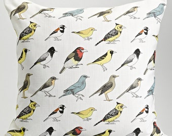 Johannesburg Garden Birds Cushion Cover - Multicoloured