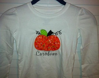 Halloween Applique Shirt