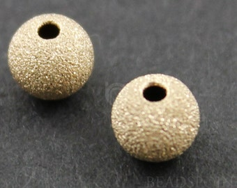 Gold Filled 3 mm Sparkle Bead with 1 mm Hole,1 Piece, Sold INDIVIDUALLY, Just buy as many you ...