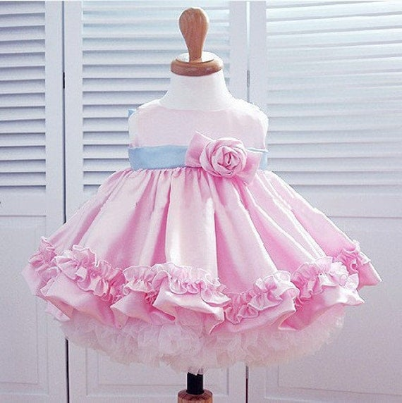 Very Hot  Baby toddle dress/ flower girl/ holiday dress 001