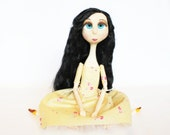 Ooak Art Doll Shabby Chic Art Princess Art Doll Photograph Giclee Print