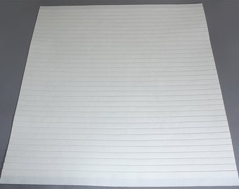 """Size 3/4""""(22""""W x 50""""L) Mr. Pleater Board, pleats fabric, fast and easy."""