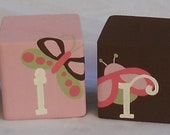 CUSTOM LISTING - KAMRYN - Done to match Tiddliwinks bedding from Target