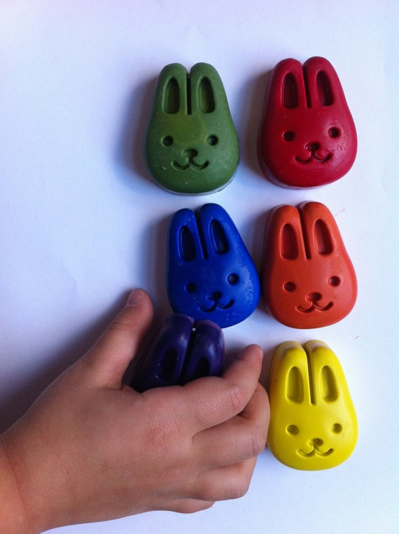 Eco-Friendly Bunny Crayons- Great First Crayon