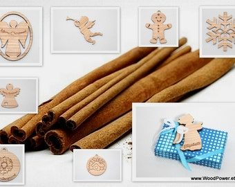 Additional Cinnamon Fragrance for Christmas Pendants and Decorations