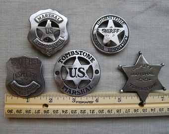 TOMBSTONE BADGES  The Tombstone Collection