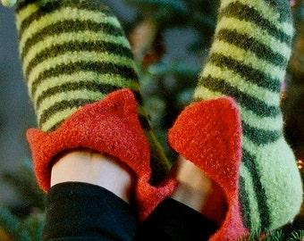 Irish Leprechaun Slippers PDF Pattern