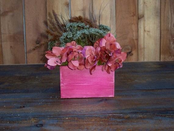 Decorative Wood Box,Decorative Wood Center Piece, Wedding Centerpiece,  Table Center Piece, Coffee Table Centerpiece, Decorative Wood Boxes,