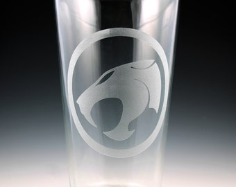 Thundercats Logo Pint Glass