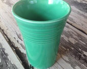 Original Vintage Green Water tumbler fiestaware