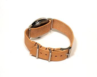 Nato Watch Band. You pick the size & stitching - 16/18/20/22/24mm.  Handmade - cut and stitched.