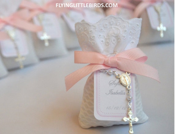 Christening Lavender Sachets Favor With Mini By