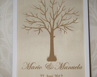 Wedding tree guestbook wedding wedding tree