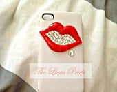 Red Lips iphone 4/4s case