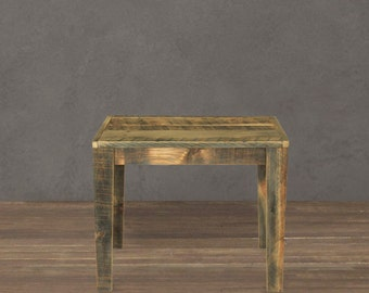 Reclaimed Side Table, End Table