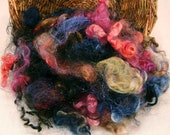 Northern Lights - 2 oz of Sparkle Fluff Mixed Fibers