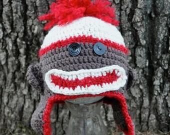 Sock Monkey Hat (Child)