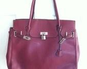 HERMES BIRKIN Style Large Bag