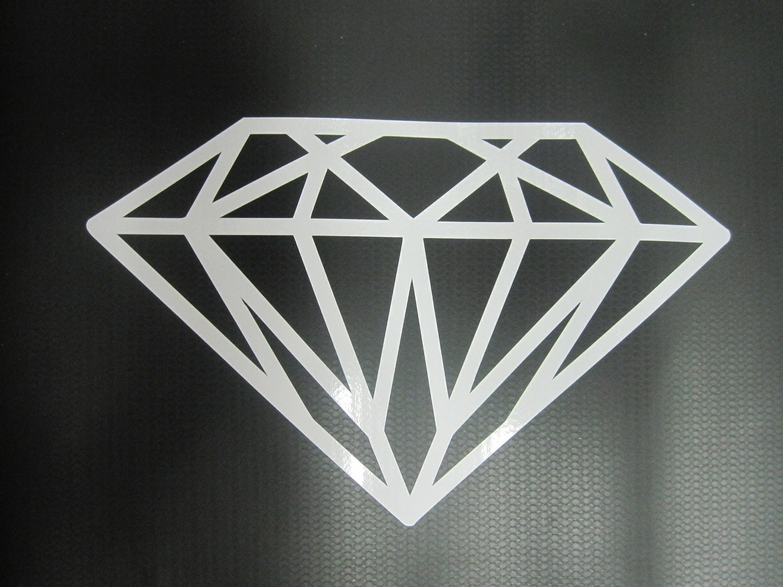 Items Similar To Diamond Vinyl Car Window Decal On Etsy