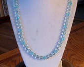 Pretty Elegant Blue Quartz Necklace
