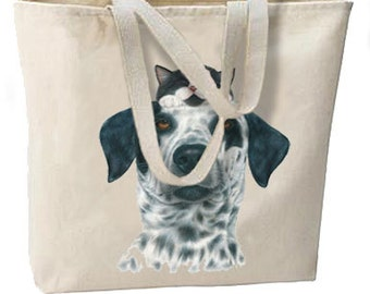 Tuxedo Cat and Dog Buddies New Oversize Tote Bag, Overnight, Getaways, Shopping