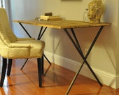 the ELLIOT Desk -  Reclaimed Wood Desk, Console or Table