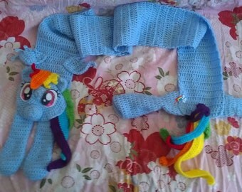 Rainbow Dash Scarf