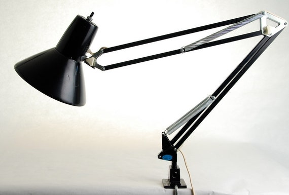 Ledu drafting table swing arm task lamp for Ikea drafting table with lightbox