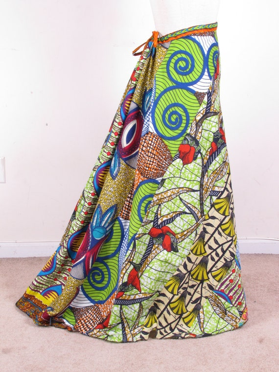 Beautiful Ethnic Gypsy Hippie Bustle Fishtail Long Full Length Maxi Drawstring Skirt Dress one size