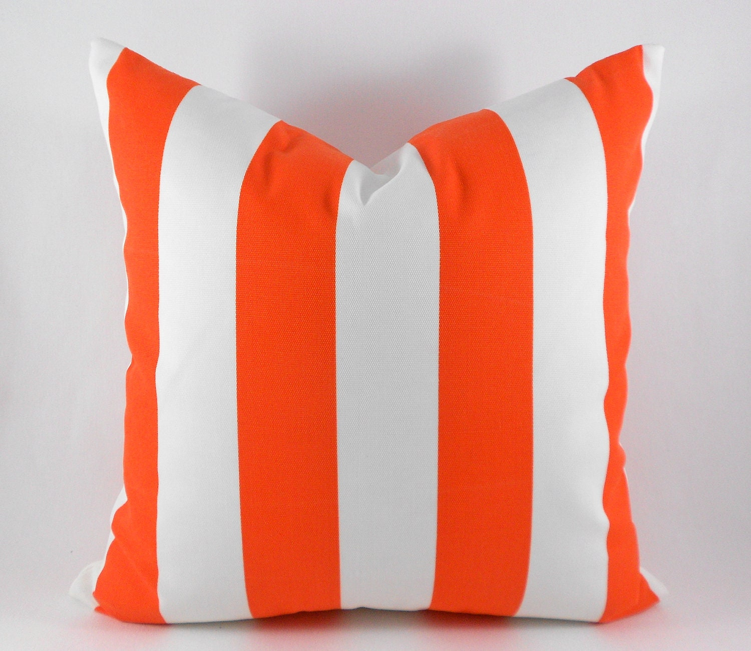 Outdoor Indoor Orange Pillow Covers ANY SIZE by MyPillowStudio