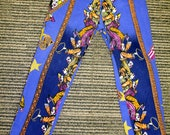 RESERVED ITEM Versace jeans couture 80s Cirque and clown print jeans - amazing vintage treasure