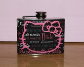 RESERVED FOR MARQUITA Hello Kitty Flask for girls night out
