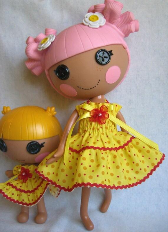 Lalaloopsy - Big Sister Dress - Smocked Dot