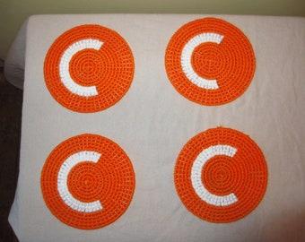 4 Clemson Coasters