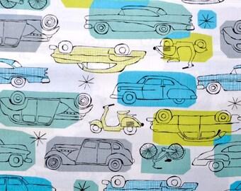 Monaluna Organic Fabrics Havana Collection One Yard of On The Go in Blue