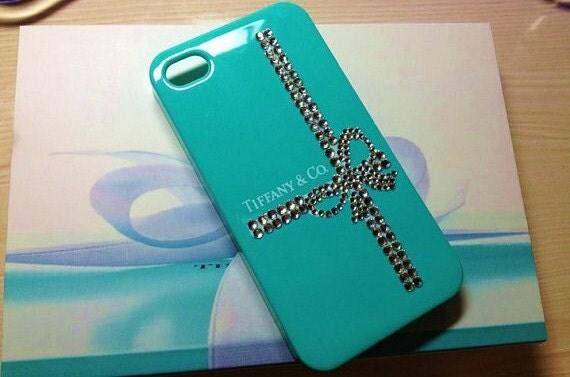 iPhone 4 / 4S Tiffany & Co. Designer Swarovski Crystal Bling Case