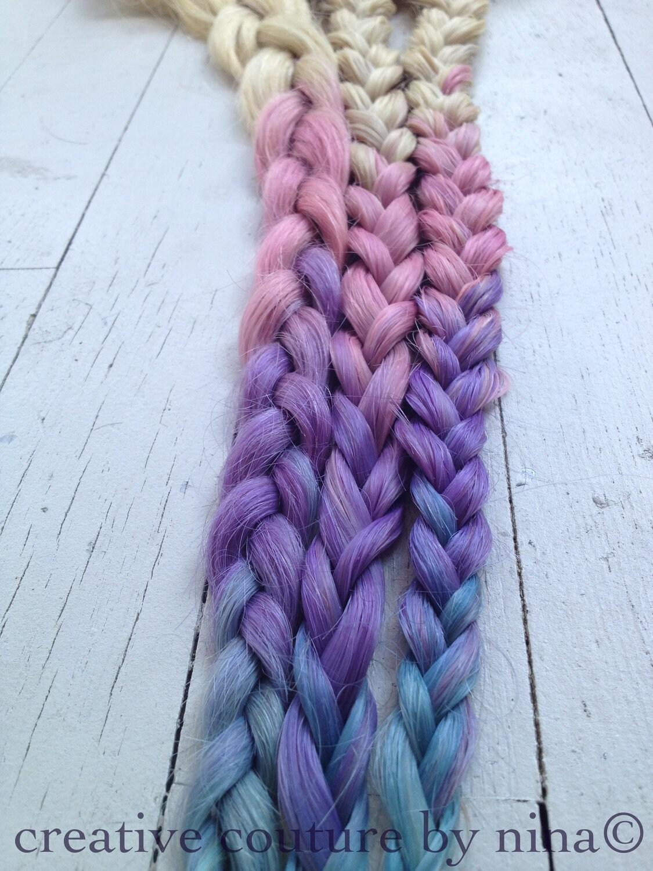 tie dye hair extensions dip dye blonde remy human by studioshe. Black Bedroom Furniture Sets. Home Design Ideas