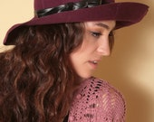 RITZ Wool & Leather Riding Hat