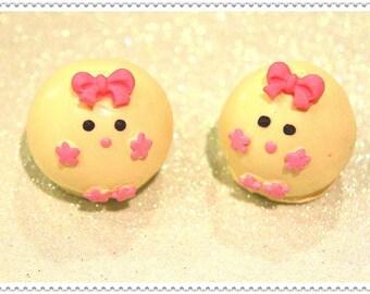 Birthday Cake Pops (Chicks)