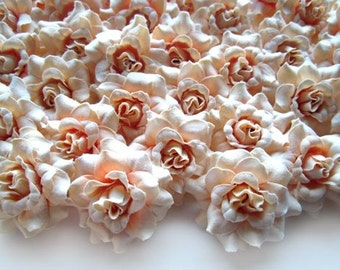 Silk flower heads in bulk images flower decoration ideas vanrina silk tea rose heads 35cm artificial flower heads 100 100 cream mini roses heads artificial mightylinksfo