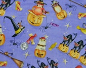 Spooktacular Party by Henry Glass - FQ  18 inches x 22 inches