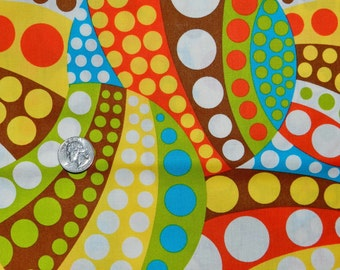 Polka Dot Circle Dots - Fabric by the Yard