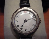 Beautiful vintage Swiss Courvoisier Freres mid-size ladies wrist watch circa 1910/20s - recently serviced