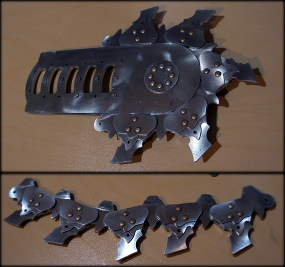 Prototype Chainsword pieces/scrap